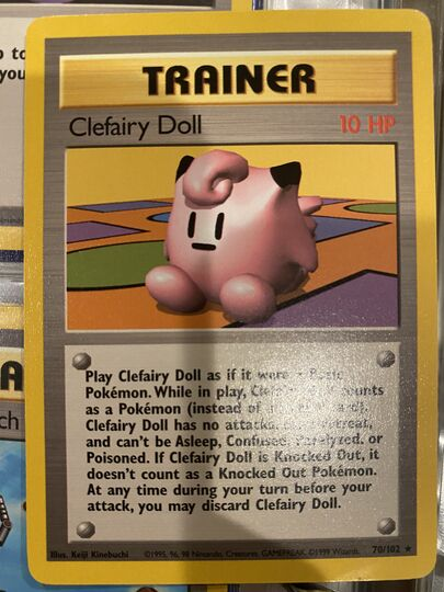 70/102 clefairy doll Item Image