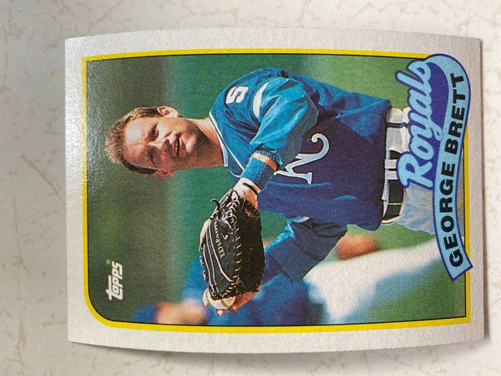 george brett topps 1989 Item Image