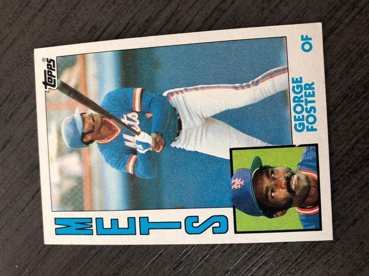 1984 TOPPS GEORGE FOSTER 350 Item Image