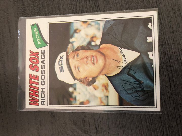1977 TOPPS RICH GOSSAGE 319 Item Image